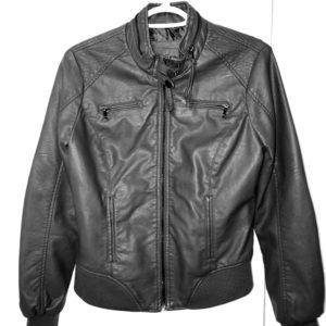 Ci Sono by Cavalini Faux Leather Jacket
